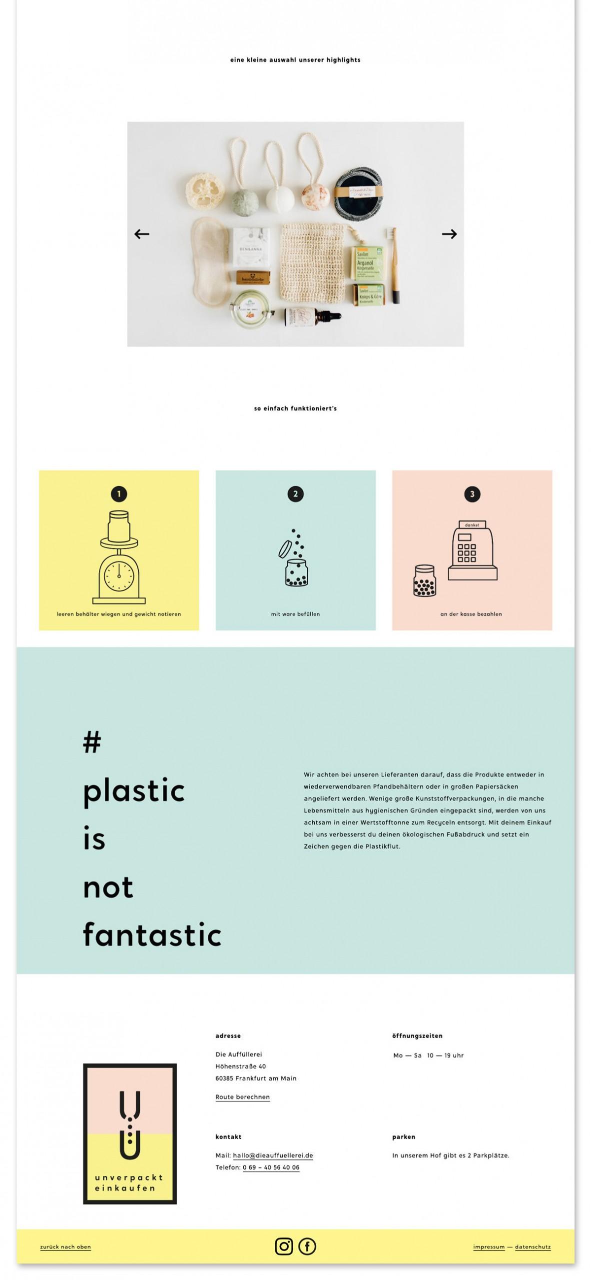 Patrick Molnar — Gestaltung Die Auffüllerei